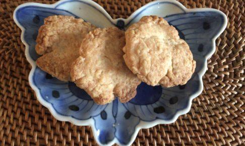 薄力粉と砂糖とサラダ油で作る「簡単クッキー」