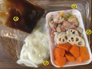 【料理】生協(コープ)のミールキット「1/3日分野菜と鶏の黒酢あん」を作ってみた!