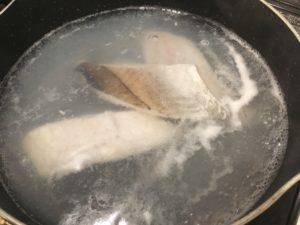 【料理】生協(コープ)のミールキット「セビーチェ(タラと野菜のレモンマリネ)」