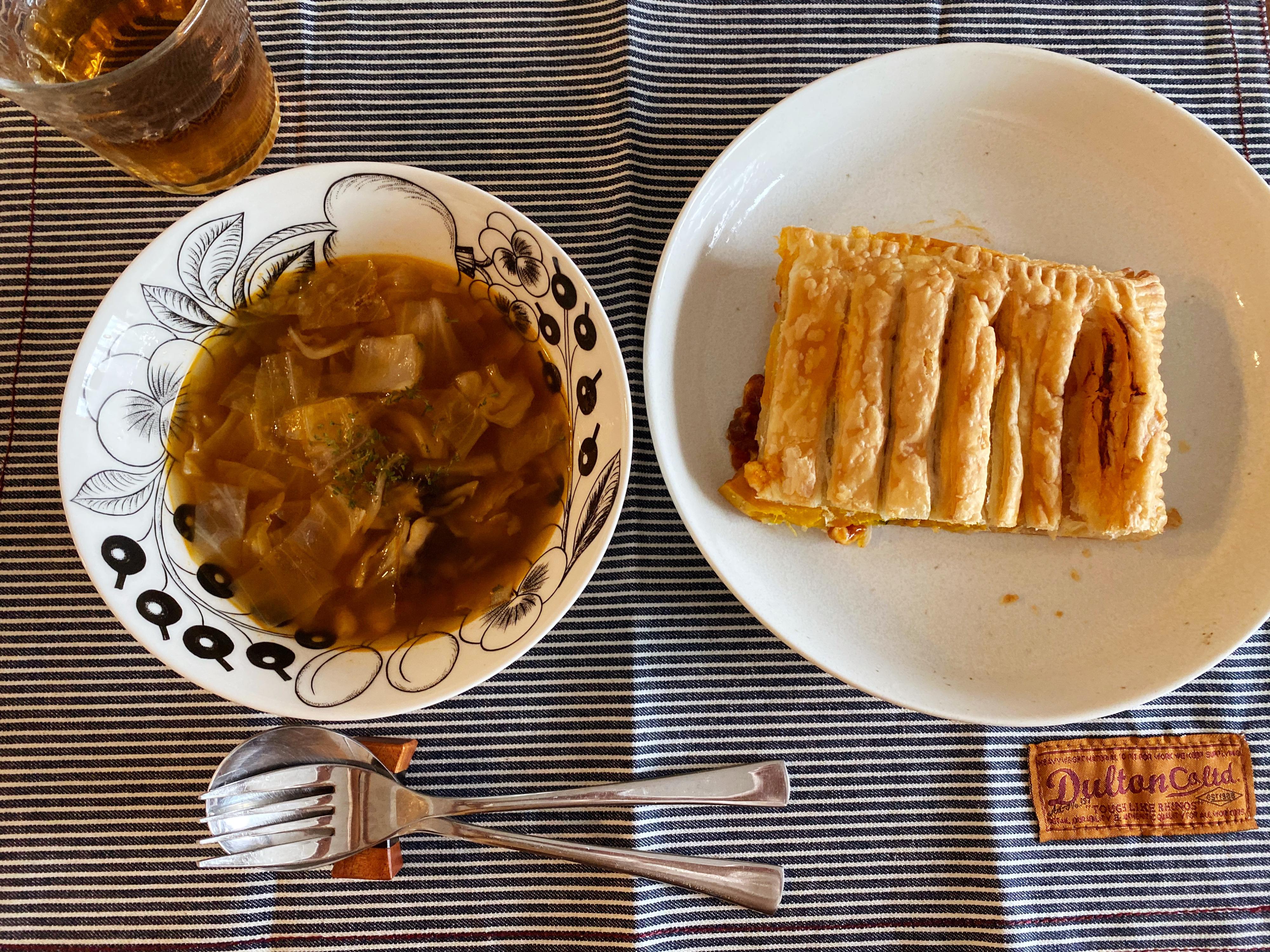 ミートパイ が 焼け た わ 【レシピ】オーブントースターで焼くミートパイ/冷凍パイシートを使...
