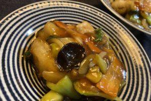 【料理】生協(コープ)のミールキット「ごま油香る!白身魚フリッターの中華あんかけ」