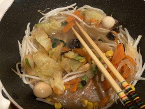 【料理】生協(コープ)のミールキット「1/3日分野菜が摂れる皿うどん」