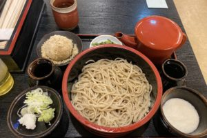 【長野駅から徒歩1分】「草笛」のくるみ&とろろが楽しめるボリューミーな蕎麦「草笛セット」がおいしかった!