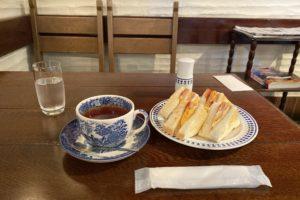 【善光寺周辺】「ティールーム藤屋」であったかサンドイッチとドリンクが付く「トーストセット」をいただきました!